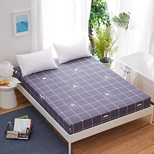 Xiaomizi Lujoso cojín inferior y dobladillo elástico que se adapta a tu cama hipoalergénica: 180 x 200 x 25 cm