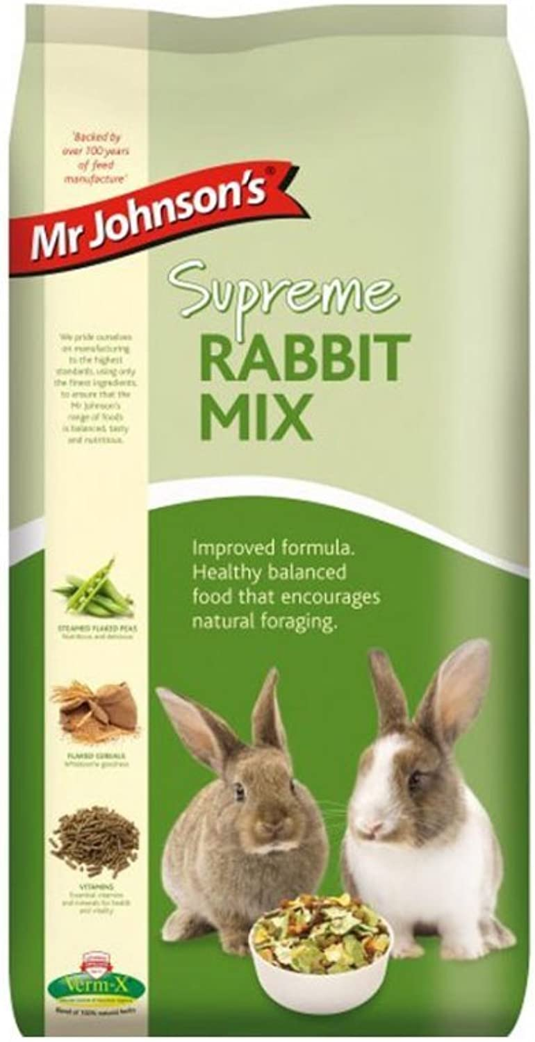 30kg Mr Johnson's Supreme Rabbit Mix Food (2 x 15kg)