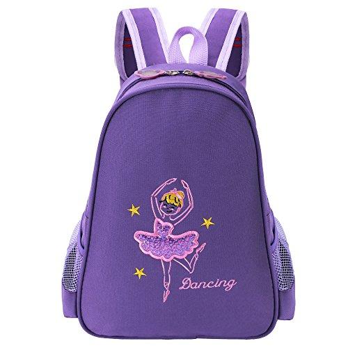 BAOHULU Toddler Backpack Ballet Dance Bag 9 Colors