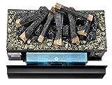Faber Juneau Indoor Log Insert Fireplace Electric Black–Kamin (570mm, 260mm, 340mm, 15kg, 680mm, 380mm) - 6