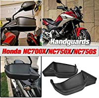 AHOLAAオートバイハンドガード防風 防寒プロテクターナックルガード ナックルバイザー ハンドガード Honda NC 700 X NC 750 X NC 750S NC 750 X DCT 2012-2019