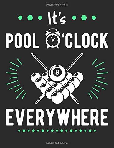 It's Pool O'clock Everywhere: College Ruled 8.5