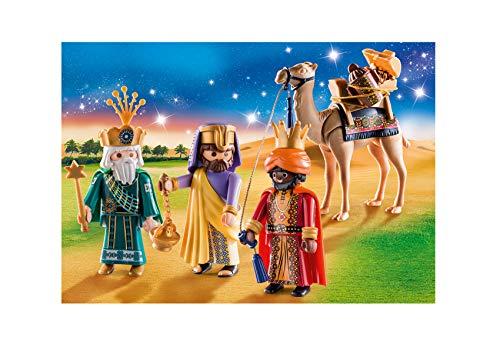 Outletdelocio. Conjunto Navidad Reyes Magos Playmobil