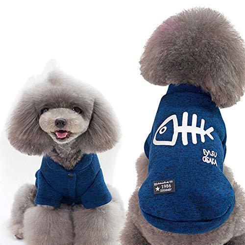 FEIYI Chaqueta de algodón suave para perro de pesca y caza, abrigo,...