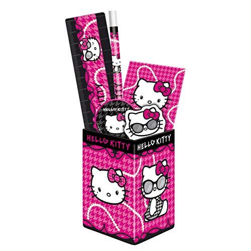 Schreibset Hello Kitty, Fuchsia