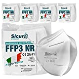 sicura 5 mascherine protettive ffp3 certificate ce made in italy mascherine sigillate singolarmente
