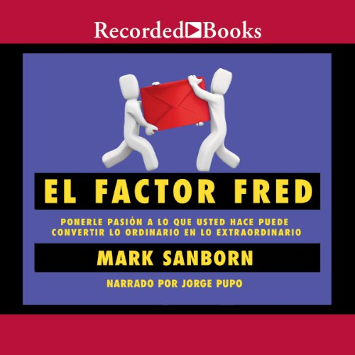 El Factor Fred audiobook cover art