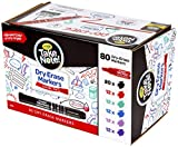 Crayola Dry Erase Markers, Bulk Office & School Supplies, 80Count, Multi