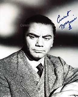 ERNEST BORGNINE - Hollywood Legend Genuine Autograph