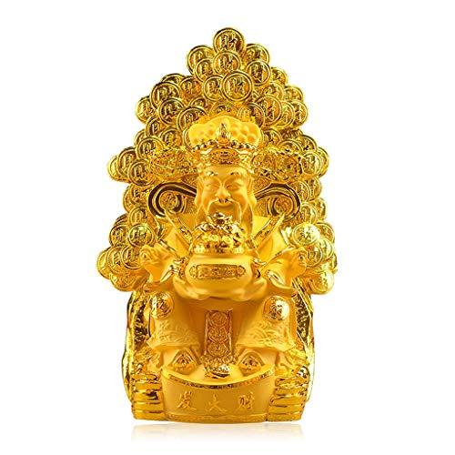 Buddha decorativos Dios de la riqueza de la decoración del árbol de Lucky Buda estatua decoración del hogar de apertura tiendas de regalos, decoración for la suerte y Riqueza perfecto for su hogar u o