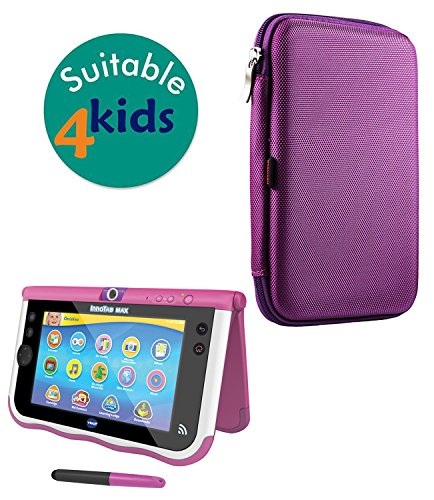 Broonel Navitech Purple Hard Protective Case Cover Compatible With The VTech InnoTab Max 7