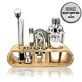 Best Bartender Kits - Premium Bartender Kit | 11-Piece Cocktail Shaker Set Review
