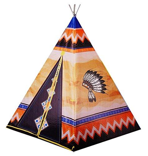 Nick and Ben Kinder-Spielzeug Indianer-Tipi Spiel-Tipi Spiel-Zelt Wigwam Indianer-Zelt Indianer-Kostüm