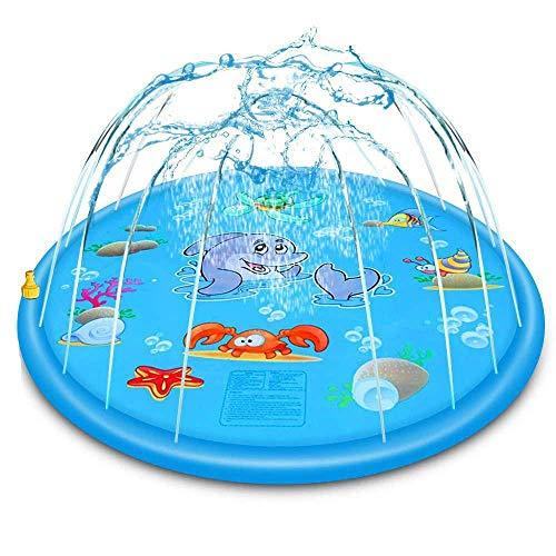 Control remoto Coche, 2020 NUEVO Agua Spray juego Almohadilla de juguete inflable Niños Niños al aire libre Césped Salpicaduras de agua Espesor de espesaje Splash Splash Play Mat Fun Summer Spray Jugu
