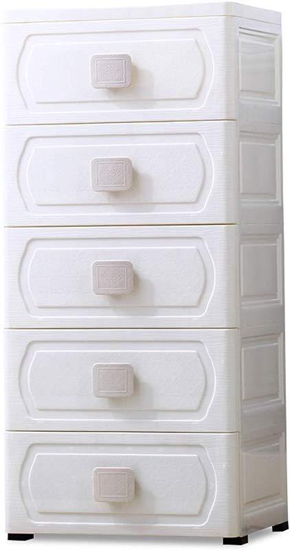 Zzg 2 Plastic Storage Box European Style Drawer Type Children S Room Clothing Toy Finishing Cabinet Wardrobe Multi Layer Locker 383284 5CM Color C