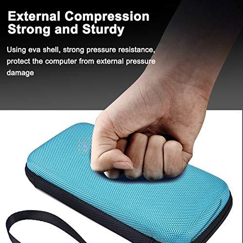XBERSTAR Hard EVA Shockproof Carry Case Bag Pouch for Texas Instruments TI-84 Plus CE/Color TI-83 Plus,TI-89 Titanium, HP 50G Graphing, Scientific Financial Calculators (Blue) … Photo #5