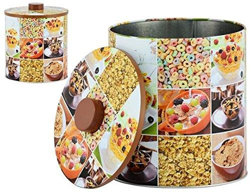 AVENUELAFAYETTE Boîte Pot métal Cuisine Céréales - 20 cm