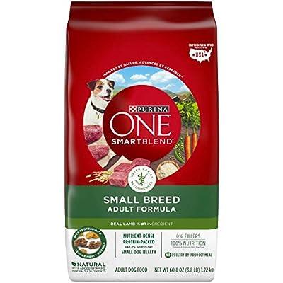 Purina ONE Natural Small Breed Dry Dog Food, SmartBlend Small Breed Lamb & Rice Formula - 3.8 lb. Bag