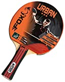 Fox TT Urban 3 Star Table Tennis Bat - Red