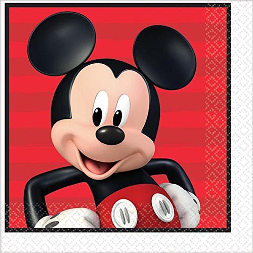 Mickey Mouse 'On the Go' Lunch Napkins (16ct)