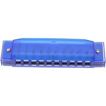 Diatonische Mundharmonika 10 Löcher Blaue Harfe Mund Orgel Schlüssel Von C