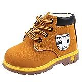 Beikoard_Babykleidung Plus Baumwolle gepolsterte Booties mit britischen Wind Stiefel Schneeschuhe Schuhe Sneaker Kinder Baby Freizeitschuhe