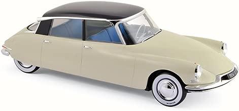 1956 Citroen DS 19 Salon De Paris October 1955, Champagne & Aubergine - Norev 181565 - 1/18 Scale Diecast Model Toy Car