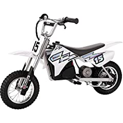 POWERFUL MOTOR:Powered by a 250-watt, high-torque, variable-speed, chain-driven motor that delivers electrifying fun at speeds up to 14 mph (22 km/h) ages 13 and up LONG RANGE BATTERY:Rechargeable 24V (two 12V) sealed lead-acid battery system provi...