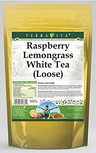 Albuquerque Mall Raspberry Lemongrass White Tea Loose 4 oz - Oakland Mall P ZIN: 535434 2