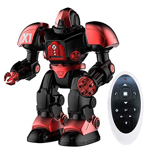 Remote Control Robot Toys, Singing Dancing Shooting RC Robot for Kids, Intelligent Programmable Toy Robot with Battle Mode, Awesome Christmas and Birthday Gift for Boys and Girls