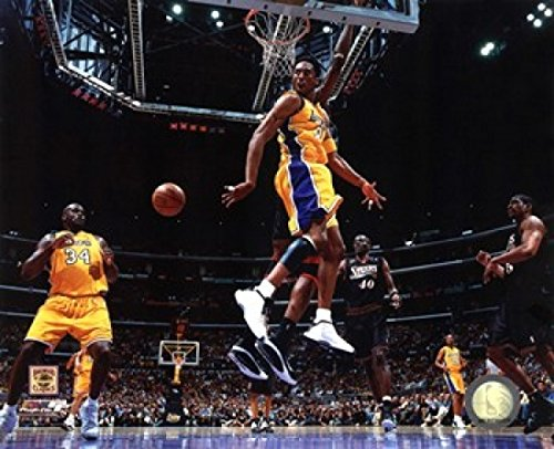 The Poster Corp Kobe Bryant & Shaquille O'Neal 2001 NBA Finals Aktion Photo Print (25,40 x 20,32 cm)