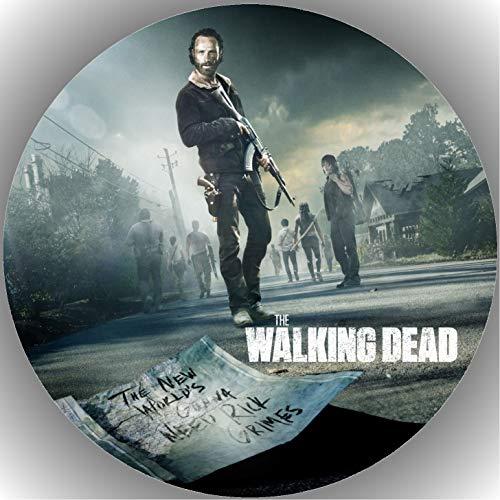 Fondant Tortenaufleger Tortenbild Geburtstag The Walking Dead T1