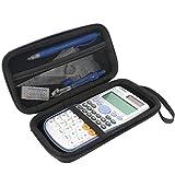 Khanka Pour Casio FX-991ESPLUS/DE Plus/SP x Calculatrice scientifique EVA Dur Cas étui de Voyage Housse (case only)