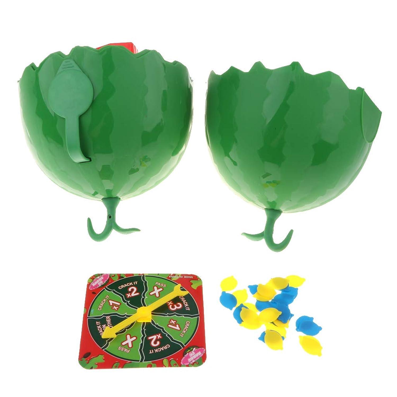 P Prettyia 水のルーレット 挑戦ゲーム 頭を濡らし スイカ水容器 おもちゃ