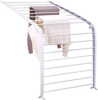 LIZILYJ Estante para secar Percha para secar Toallero Plegable de pie Estante para secar la Ropa Estante para secar del radiador para bebé Pequeño Interior
