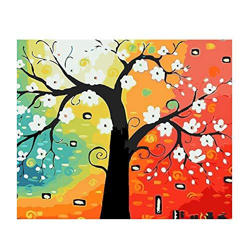 styleinside Peinture d'impression Riche Et Colorée, Peinture de Mur de Maison de Décoration de Tissu Non-tissé sans Cadre, 4