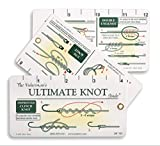 Fisherman's Ultimate Knot Guide | Waterproof Knot Cards and Fold Out Ruler