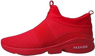 5a779ac7cb1e1d SOMESUN Sneakers Moda Uomo Scarpe in Mesh Traspiranti Casual Slip-On da  Maglia Ginnastica con