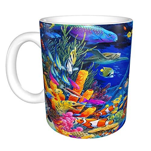 Findet Nemo Tasse mit Cartoon-Motiv, Keramikfigur, Teetasse, Geschenk für Jungen, Mädchen, Kinder, Frauen, Männer, Kaffeetasse, 330 ml