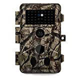 Meidase P20 Trail Camera 18MP 1080P Game Camera with H.264 HD MP4 Video Fast 0.1S Trigger Speed 82ft No Glow Night Vision Motion Activated Waterproof for Hunting Wildlife Deer Trail