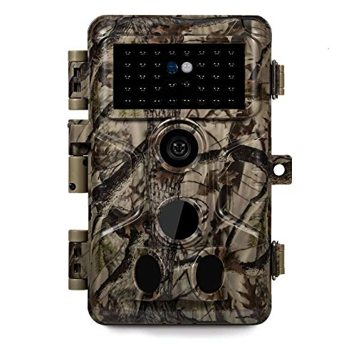 Meidase P20 Trail Camera, Fast 0.1S Trigger Speed, Advanced 1080P H.264 HD Game Cameras with No Glow Night Vision Motion Activated Waterproof