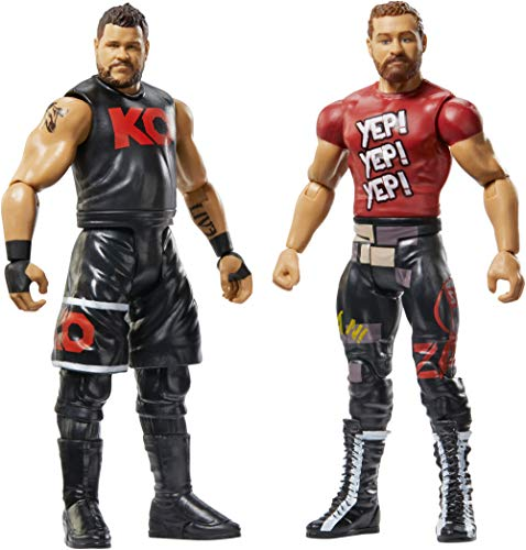 WWE GBN54 Battle Pack Includes Two 6 Inch Action Figures, with Articulation, Multi-Colour