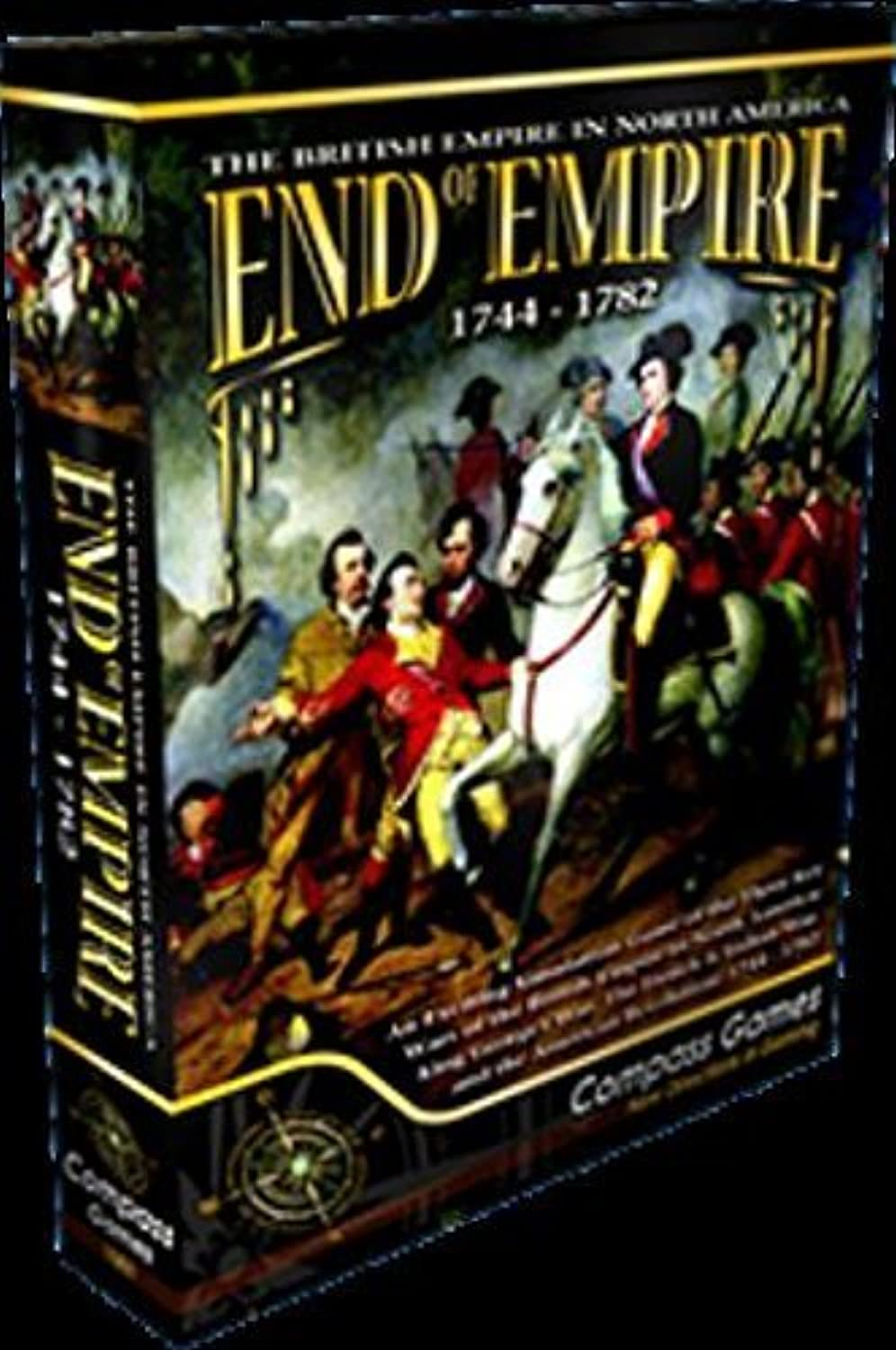 CPS  End of Empire 1744-1782, the British Empire in North America, Board Game by CPS Compass Games
