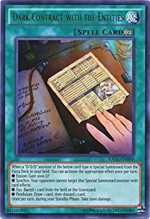 Dark Contract with the Entities - RATE-EN099 - Ultra Rare - Unlimited Edition - Raging Tempest (Unlimited Edition)