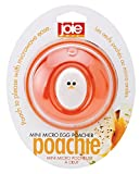 Joie Kitchen Gadgets Microwave Egg Poacher, Orange and White, 8x5.7x8 cm