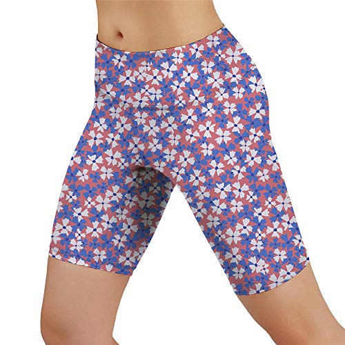 PPPPA Bedruckte Damen Sportstrumpfhose Fitnesshose Außenhandel Stretch schlanke große Yoga Fünf-Punkt-Hose Bedruckte Sport Damen Strumpfhose Fitness Hose schlanke Hüften Yoga Fünf-Punkt-Shorts