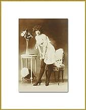 Playful Semi Nude New 4x6 Vintage Postcard Image Photo Print VN61