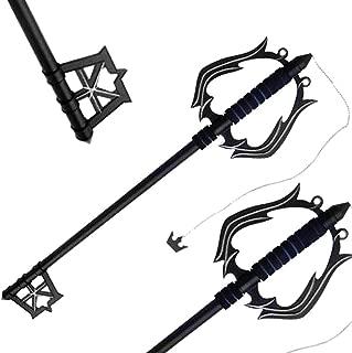 Fantasy Black Metal Oblivion Key blade Metal Replica Sword