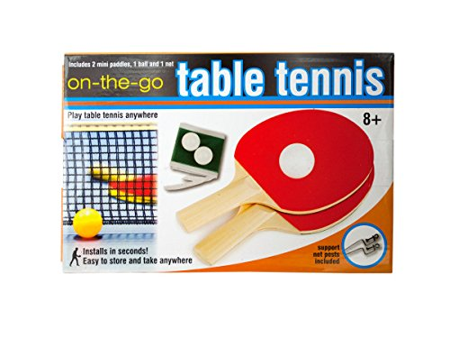 Best Buy! Portable Table Tennis Set-Package Quantity,4