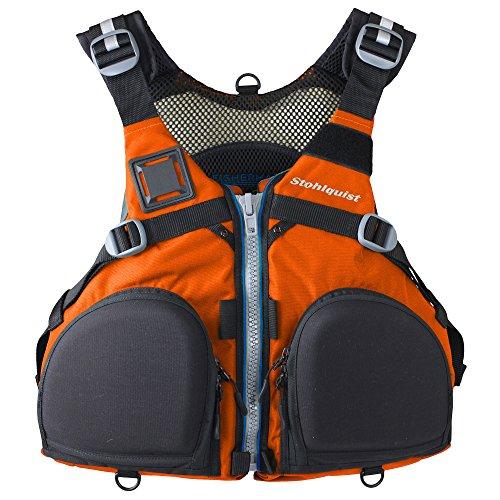 Stohlquist Fisherman Lifejacket (PFD)-Orange-XXL